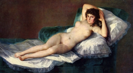 Francisco de Goya y Lucientes - Naked Maja 1800