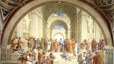 Raphael. The School of Athens,1509
