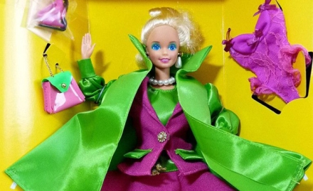 """Barbies """"pink & acid green"""" come as a """"new black""""..."""