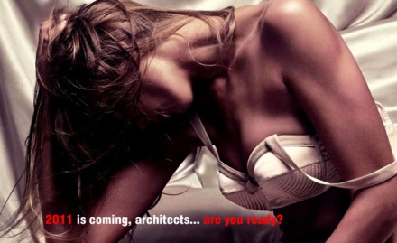 Are you ready for 2011, architects?...