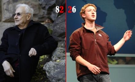 Frank Gehry or Mark Zuckerberg