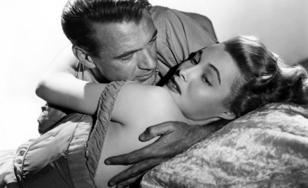 The sexiest architect ever Gary Cooper & beautiful Patricia Neal  in Fountainhead (1949)